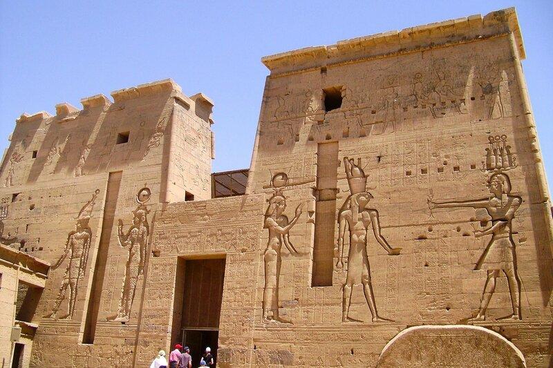 Остров Филэ, Асуан ...Египет