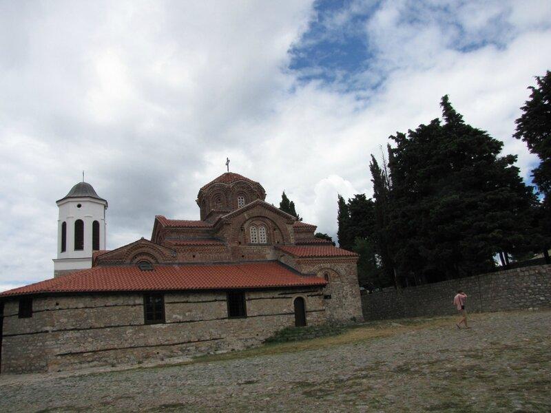 Охрид. Церковь Богородицы.