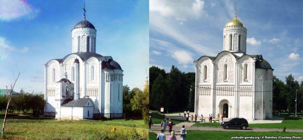 Дмитриевский собор, Владимир. 1911/2009. Фото: В. Ратников.