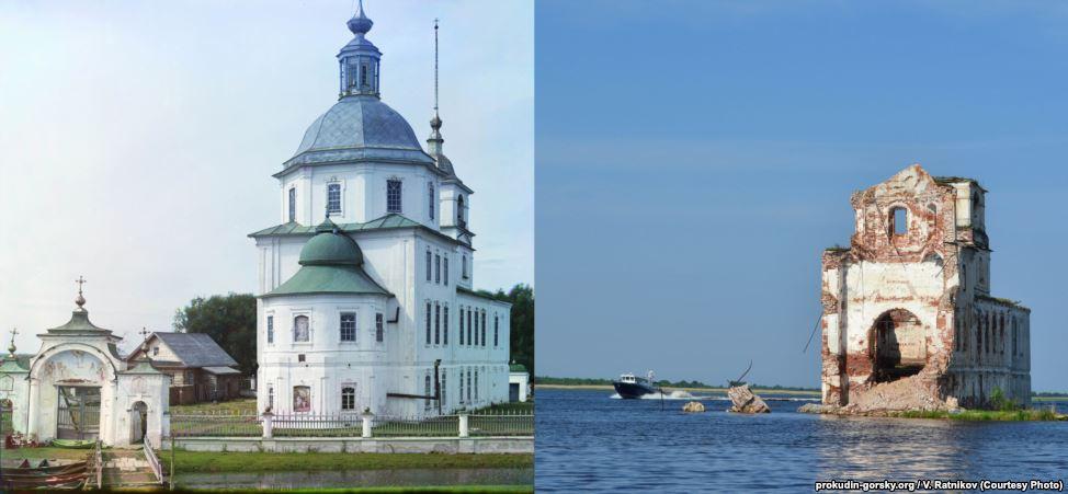 Церковь Рождества Христова в Крохино. 1909/2013. Фото: В. Ратников.
