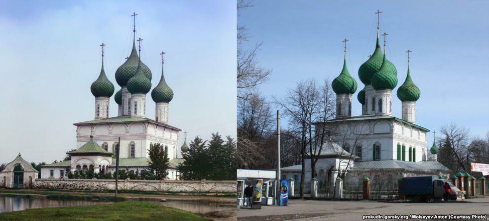 Церковь в Ярославле, 1911/2009. Фото: Антон Моисеев.