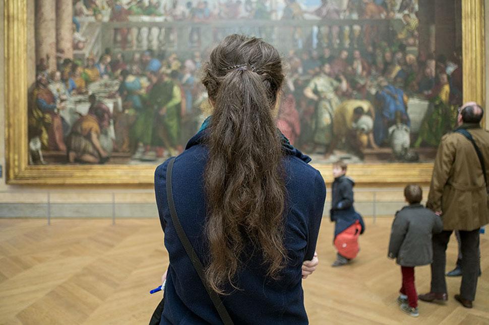 «Мона Лиза», Лувр, Париж, Франция.