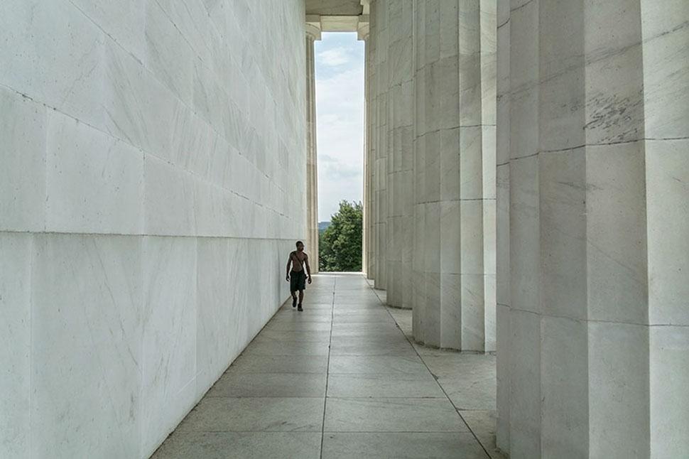 Мемориал Линкольна, Вашингтон, США.