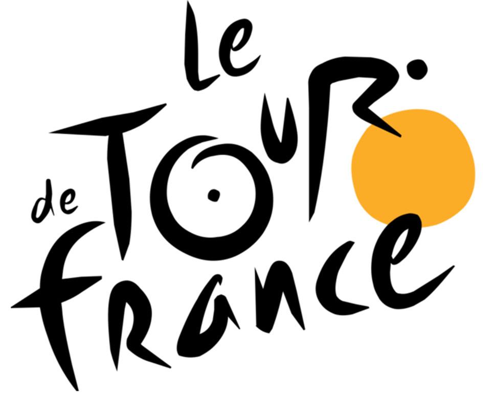 Солнце в логотипе велогонки «Тур де Франс» (Tour de France) также является и колесом велосипеда, на