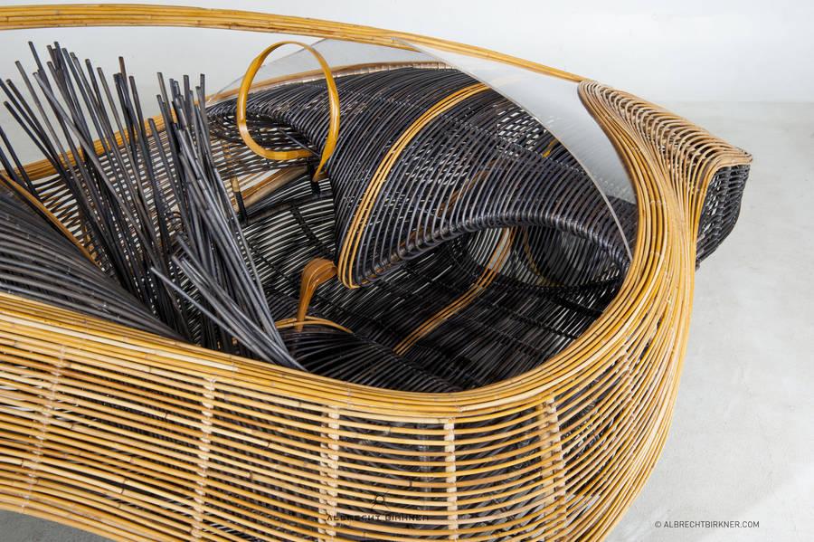 Концепт футуристичного авто из бамбука
