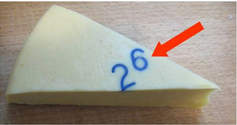 Вот для чего в сыр вставляли эти странные цифры (2 фото)