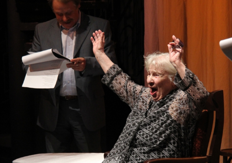 На95-ом году жизни скончалась старейшая артистка Омского театра драмы