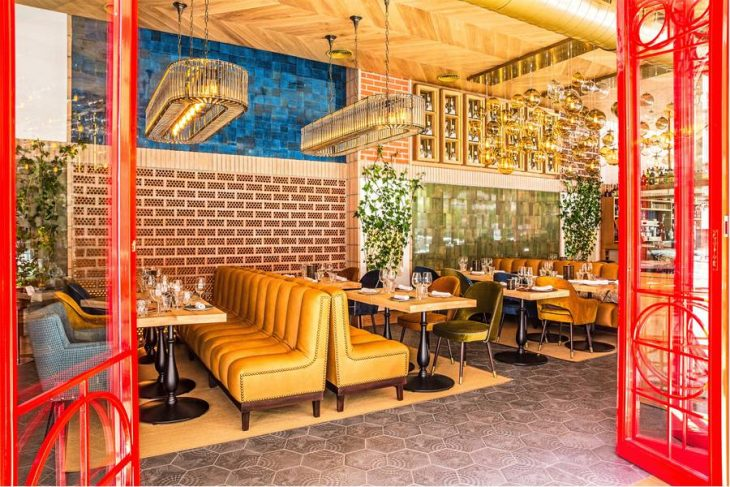 Zooco Estudio have designed the interior of La Canica De Infanta, a trendy restaurant located in Mad