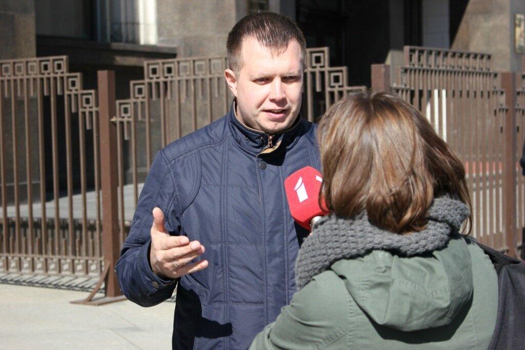 полиция почему-то решила задержать Николая Ляскина