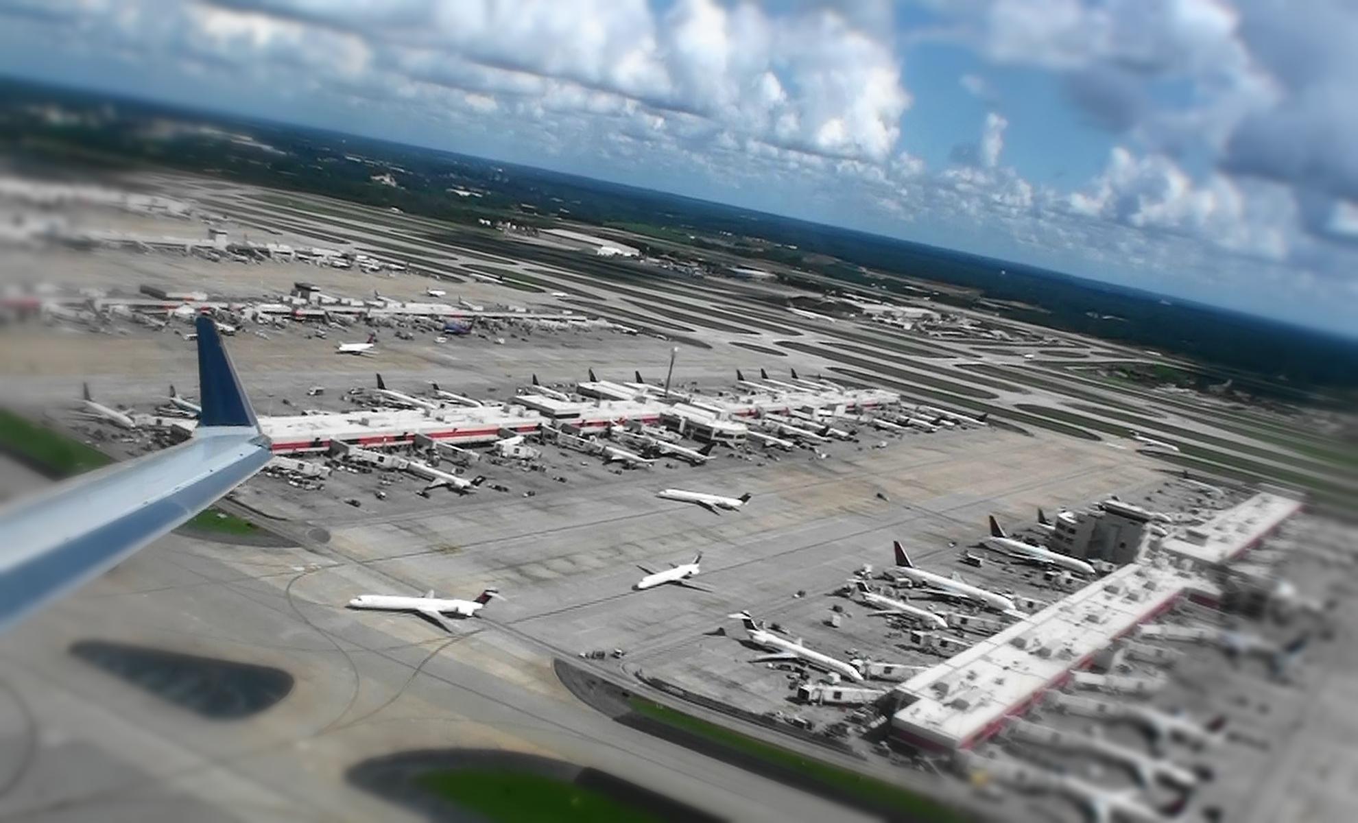 самый большой аэропорт