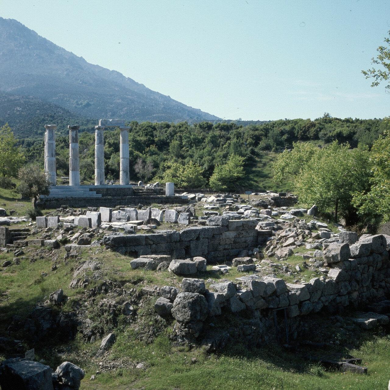 Самофракия. Центральный акротерий Гиерона, 150-125 гг. н.э.