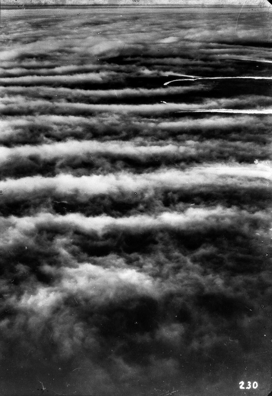 1931. Таймыр. Вид с воздуха на район мыса Челюскина