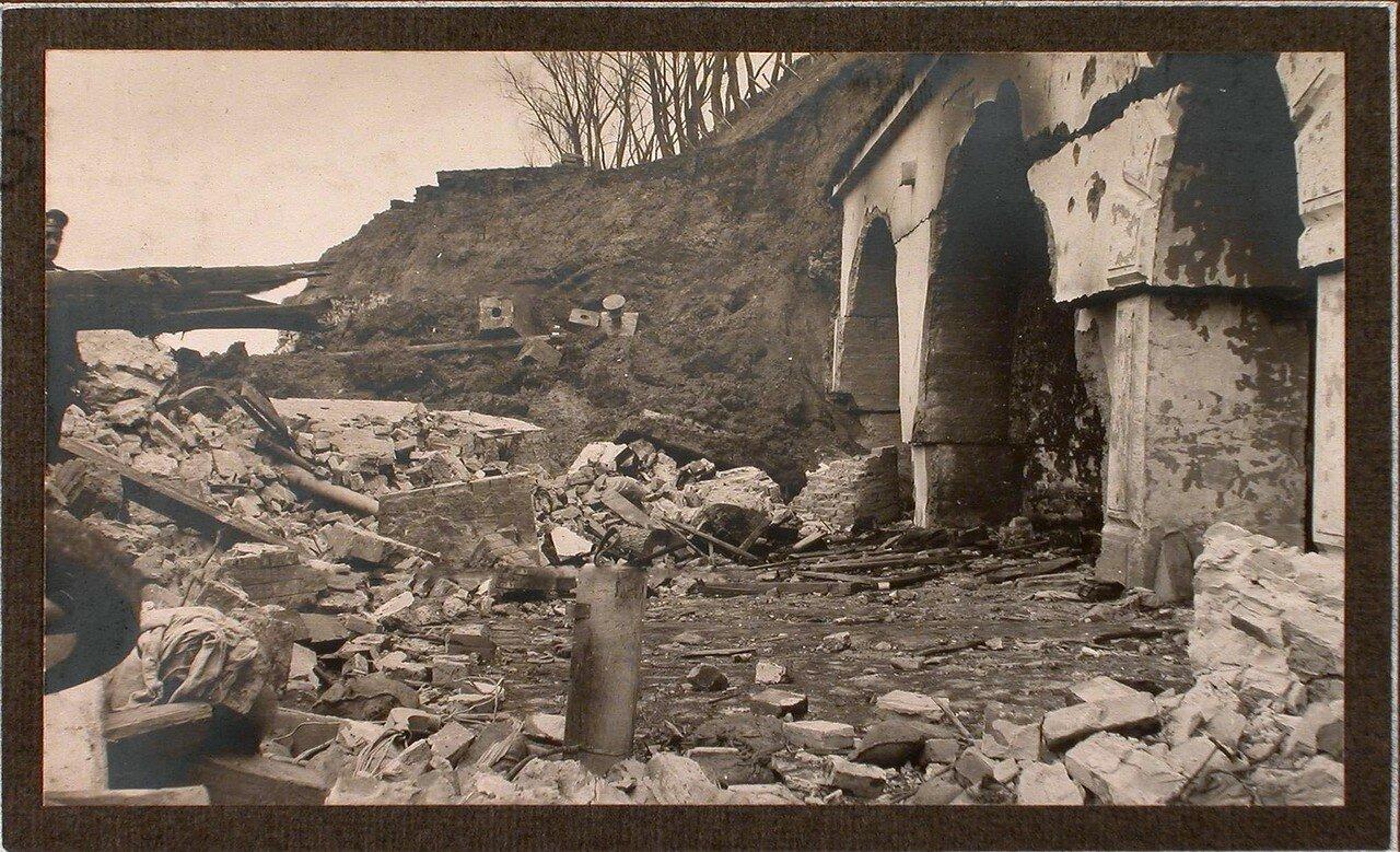 26. Вид разрушенной части форта № 1 группы Седласка