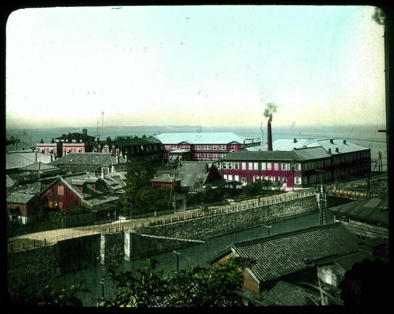 Йокогама. Гранд-отель и окрестности. 1910