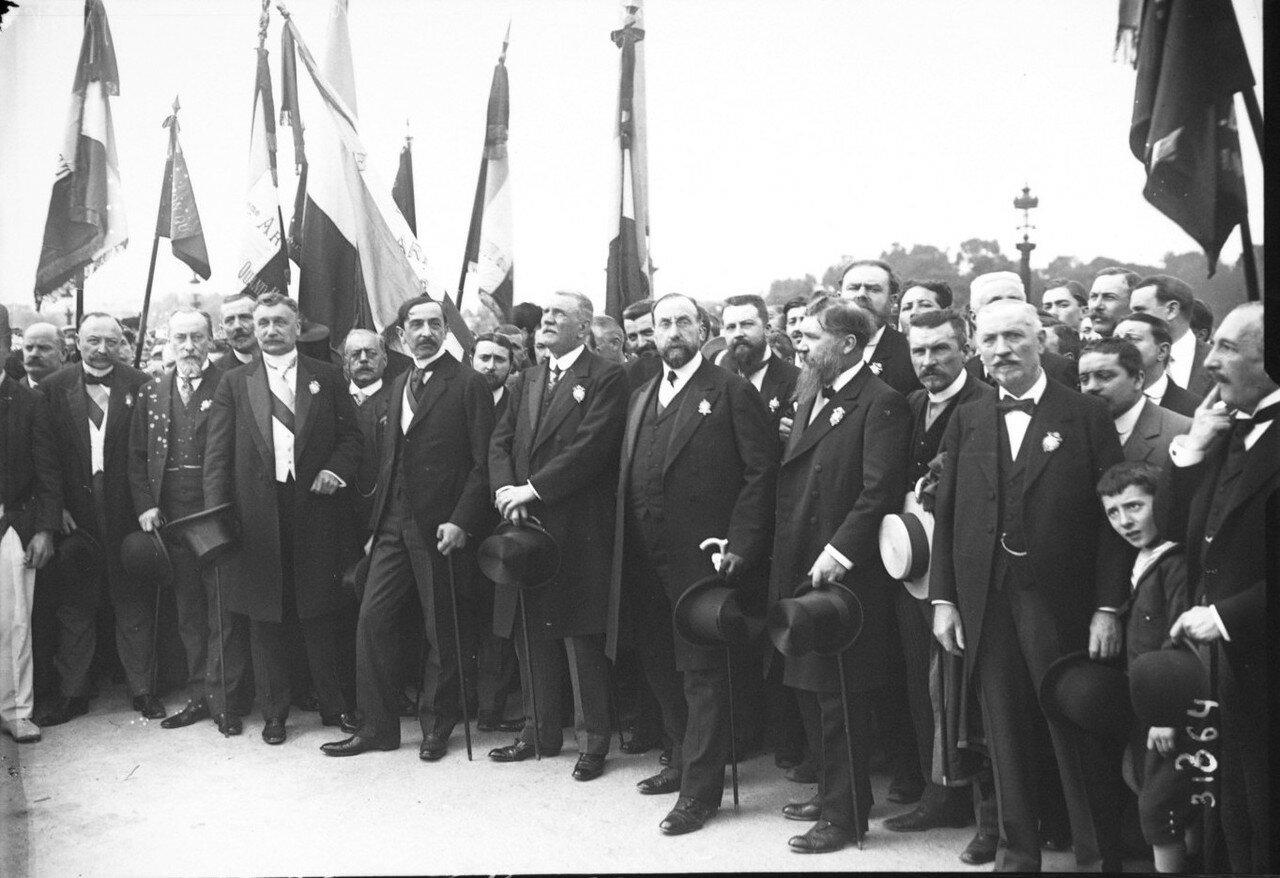 1932. Лига патриотов на площади Согласия