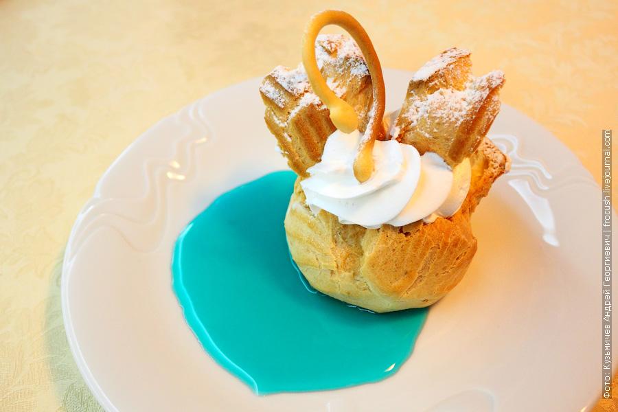Пирожное «Лебедь»