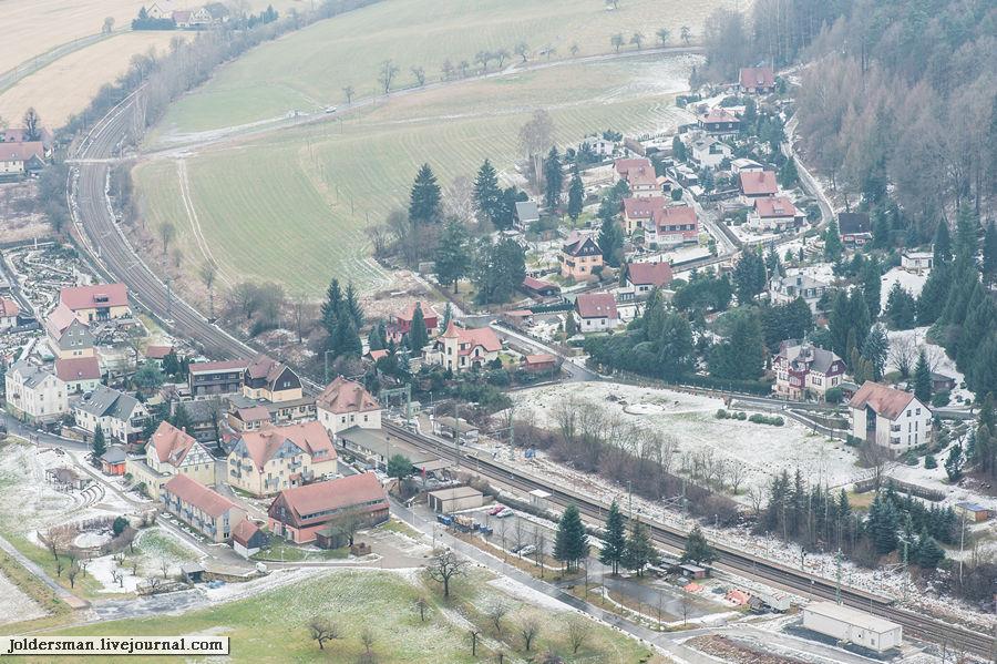 Пеший поход по Саксонской Швейцарии