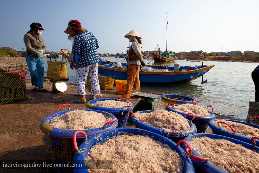 вьетнам фото рыбацкой деревни мунье