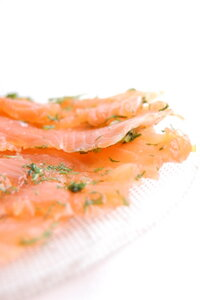 рыба слабосолёная
