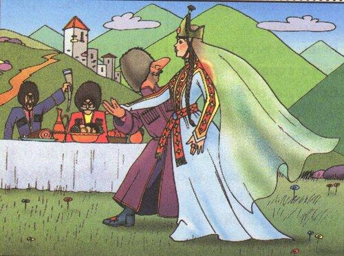 Рисунки по сказкам про богатырей