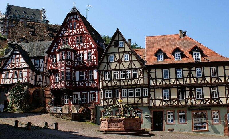 самый деревянный город Германии Miltenberg возле Ашаффенбурга.jpg