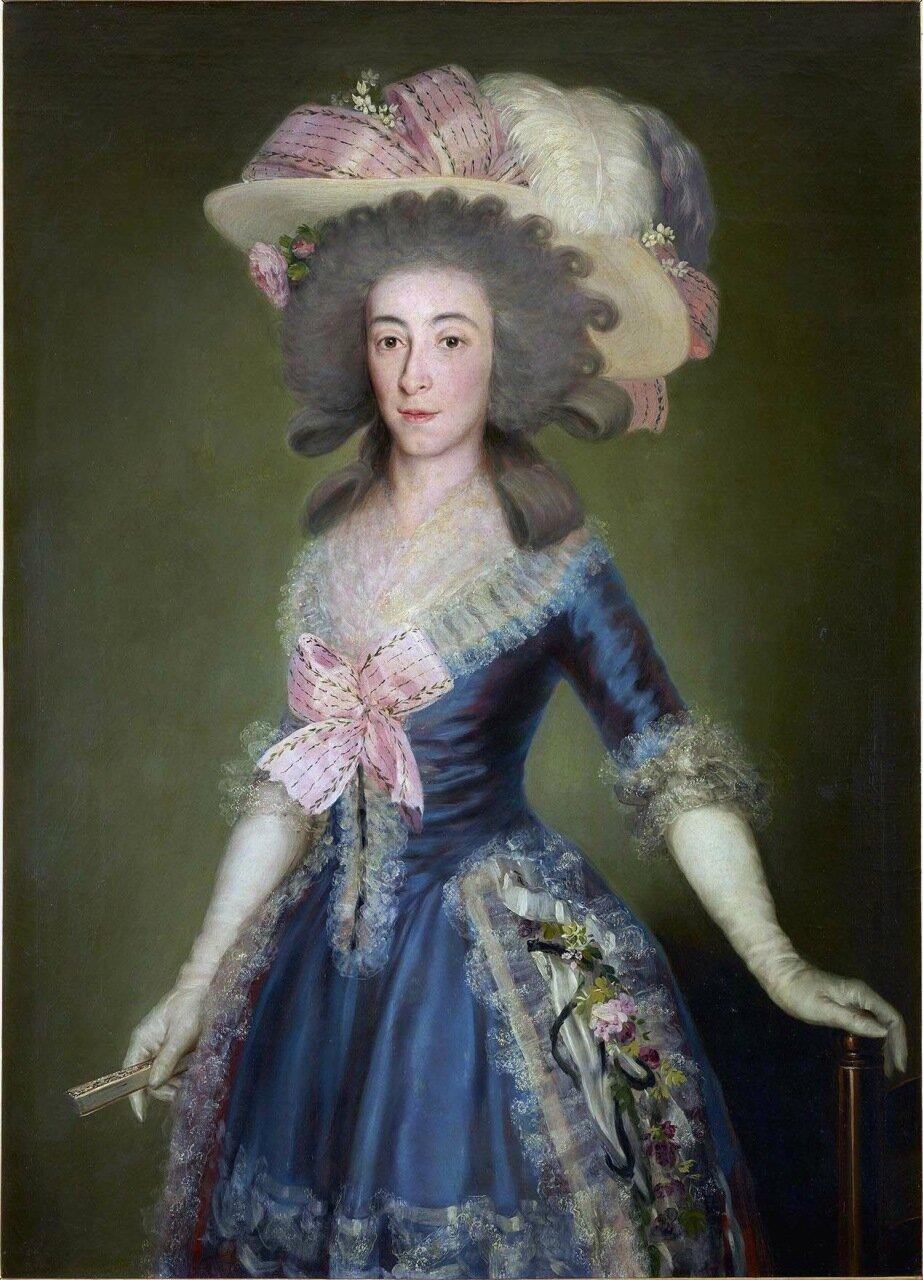 Countess-Duchess of Benavente, 1785