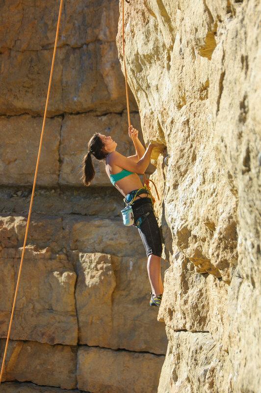 Тринровки на скалах, осень 2015