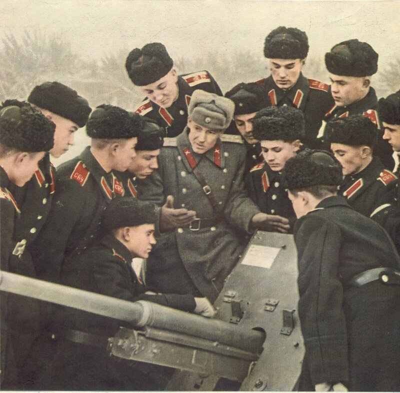 """Журнал """"Огонёк"""" № 9, февраль 1957."""