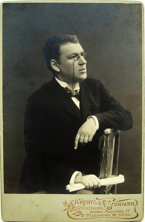 Русский журналист и театральный критик Влас Дорошевич