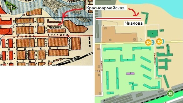 Начало улицы Красноармейской