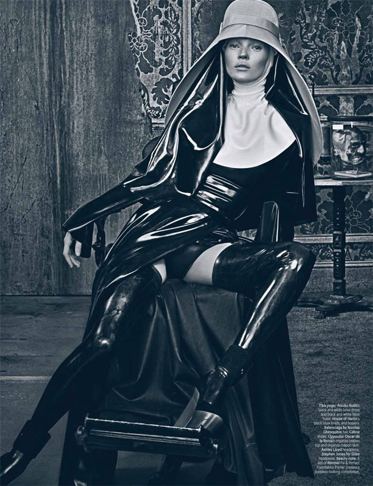Kate Moss / Кейт Мосс, фотограф Steven Klein в журнале W Magazine, март 2012