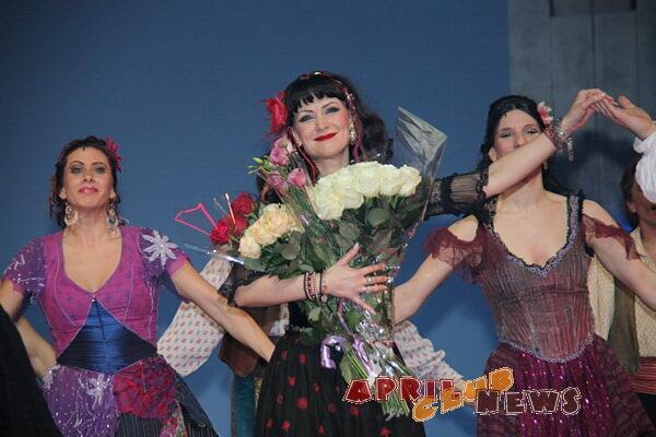 Нонна Гришаева в мюзикле «Zorro»