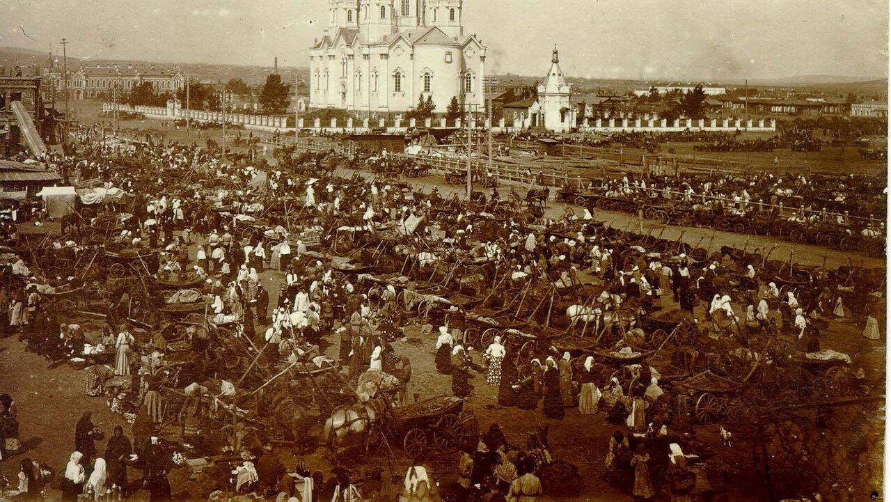 Ново-базарная площадь. 1905 - 1907