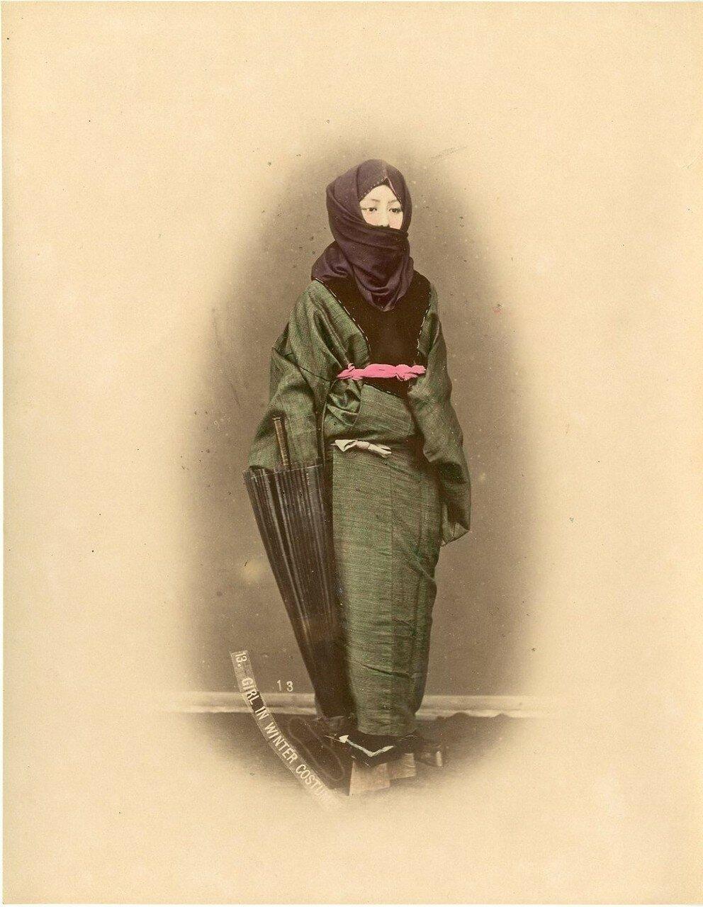Женщины в зимней одежде