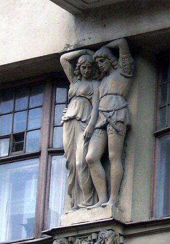 Полежаевский дом на Старорусской улице