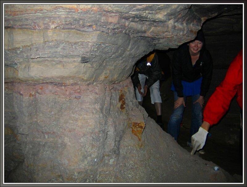 В Танечкиной пещере