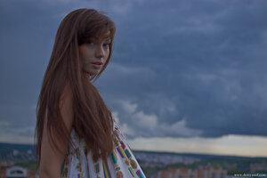 2626 девушка, Настя, город, портрет