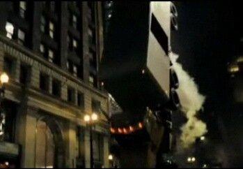 Переворот грузовика в «Тёмном рыцаре»