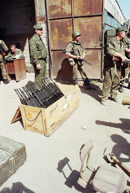 Военные трофеи России оставленные грузинскими войсками (14 фото)