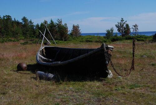 Лодка на вечном покое
