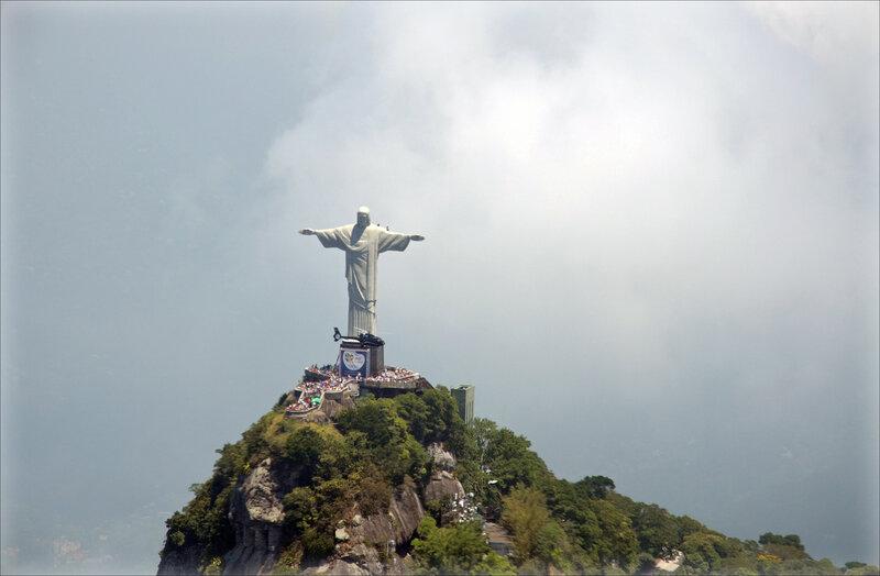 Статуя Христа Искупителя в Рио