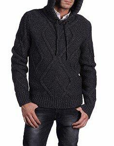 Айвенго - арановый свитер спицами