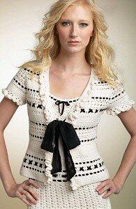 """""""В стиле Chanel"""". Белый костюм от Cynthia Steffe."""