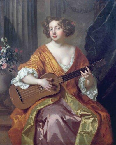Подборка картин  «Дама с гитарой»