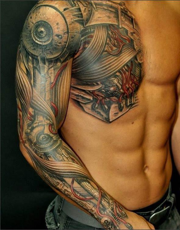 Классные татуировки на плечах и предплечьях рук 0 10ff72 31008c93 orig