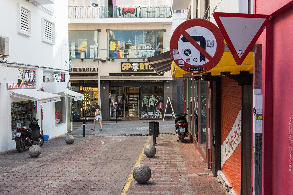 Улица Сан-Антонио на Ибице