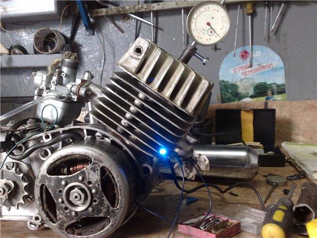 На двигатель М541 (Simson S51)