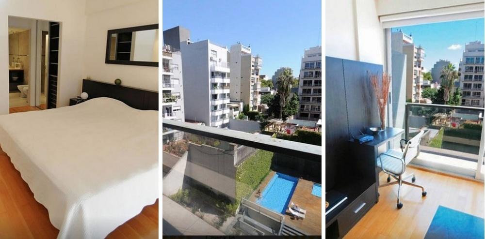 Место: Палермо Голливуд 1 спальня. Во дворе бассейн и тренажеры для занятий спортом. Шанхай, Китай —