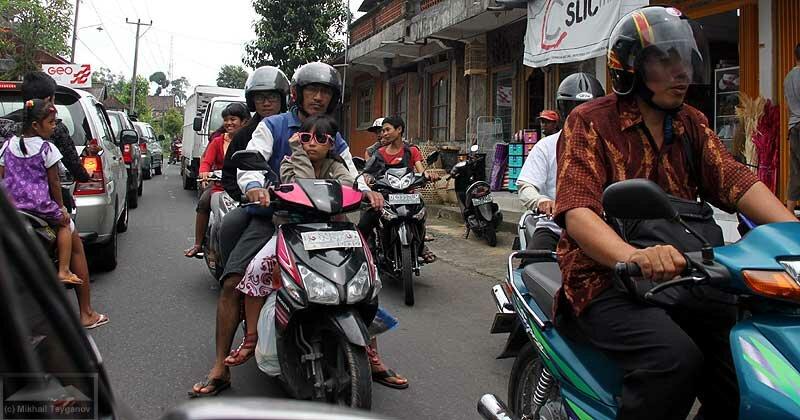Байки на Бали