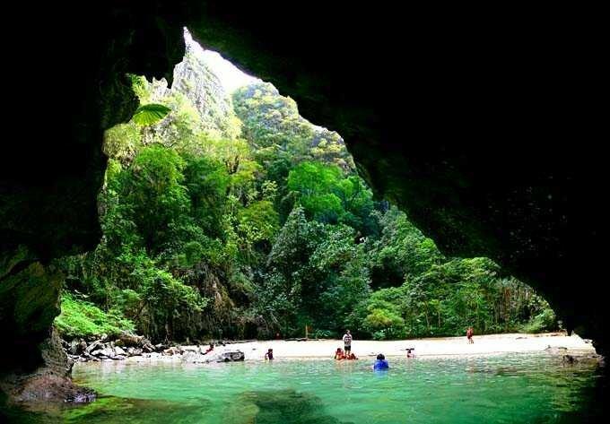 фото изумрудная пещера не мое